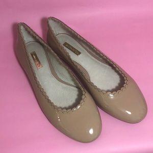 Louise et Cie patent leather beige flats